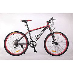 אופני הרים רכיבת אופניים 24 מהיר 700CC/26 אינץ' BB8 דיסק בלימה כפול מזלג שיכוך שלדת סגסוגת אלומיניום שלדת זנב קשה נגד החלקה