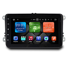 8 Inch Octa Core Android 6.0.1 Car DVD Player Multimedia System Wifi EX-3G DAB for VW Magotan 2007-2011 Golf 5/6 Caddy Polo V 6R SEAT WB8025