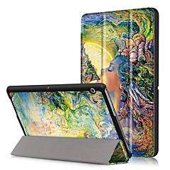 PU tok Huawei MediaPad t3 10,0 AGS-L09 AGS-L03 9,6 inch képernyő védő