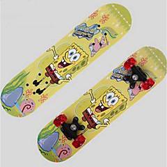 Esdoorn Kinderen Standard Skateboards Cartoon 25.4 cm Lichtgewicht 608ZZ-Geel Rood Blauw Fruit Green