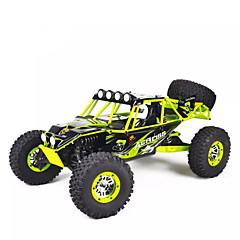 WL Toys 10428 Rock Climbing Car 1:10 Carro com CR 30 2.4G 1 x manual 1x Carregador