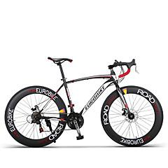 Comfort Bikes Pyöräily 21 Nopeus 26 tuumaa/700CC Shimono Tuplalevyjarru Tavallinen Tavallinen Aluminum Alloy Hiiliteräs
