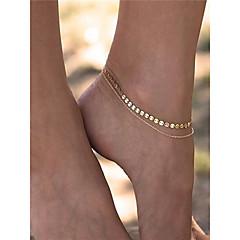 女性用 アンクレット/ブレスレット 銅 ファッション ジュエリー 用途 日常着 日常 カジュアル カジュアル/普段着