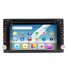 Rungrace Hot Sale Android6.0 6.2 2DIN Car Radio Stereo with DVD/WIFI/GPS/Radio/Bluetooth RL-257AGN02