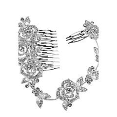 קריסטל כיסוי ראש-חתונה אירוע מיוחד מסיבה\אירוע ערב נזרים סרטי ראש מסרקי שיער פרחים שרשרת ראש חלק 1