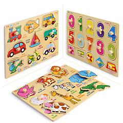 Puzzles Holzpuzzle Bausteine Spielzeug zum Selbermachen Quadratisch