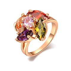 Ringen Modieus Bruiloft Sieraden Legering Dames Statementringen 1 stuks,One-Size Gouden