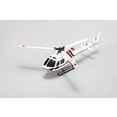 XK RC Helikopter 6CH Vezérlő 6 Tengelyes 2,4 G - Piros Szénszál