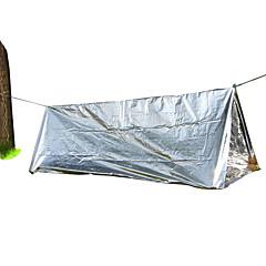 丰途 1人 テントアクセサリー シングル 折り畳みテント 1つのルーム キャンプテント 塗装 アルミ箔 携帯用 防風 軽量素材 コンパクト-狩猟 キャンピング&ハイキング-