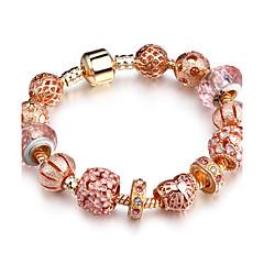 Žene Strand Narukvice Umjetno drago kamenje Moda Čvrsti mesing Circle Shape Oval Shape Jewelry Za Party Rođendan Svakodnevica
