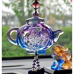 DIY automotive riipuksia kiinalainen tyyli turvallinen potin auton riipus&Koriste lasia