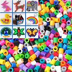 1000PCS environ perles mixtes perler fusibles perles 5mm perles hama diy puzzle eva matériau safty pour les enfants