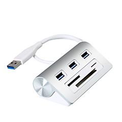 3 Portit USB-keskitin USB 3.0 Kortinlukijalla (t) Näytönpito Tulosuoja Ylijännitesuojaus Data Hub