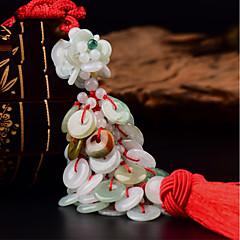 DIY autojen riipuksia koristeellinen turvallinen solki kiinalainen tyyli lupaava auto riipus&Koriste jade