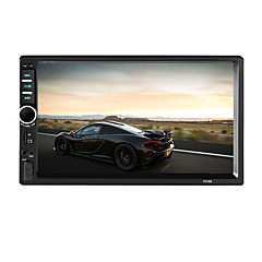 7002 2 Din Bluetooth Car Radio Video MP5 Player Autoradio FM AUX USB SD HD Touch Screen With AM RDS Music Movie Player MP5 Car Radio with Camera