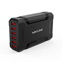 USB 충전기 6 포트 데스크 충전기 스위치로 (ES) 전세계 충전 어댑터