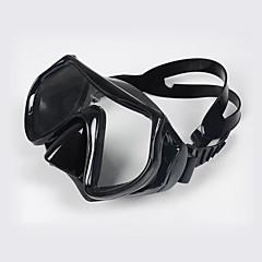 Máscaras de mergulho Máscara de Snorkel Portátil Impermeável Mergulho e Snorkeling Silicone