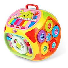 Instrumentos de brinquedo Circular Estrelas Desenho Plásticos Plástico Duro