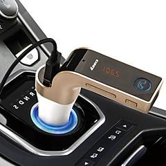 Autó G7 V3.0 autós kihangosító FM-közvetítők USB port