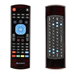 measy gp811 høy kvalitet 2,4 fjernkontroll air mus trådløst tastatur for mx3 m8s T95 android mini pc tv boks HTPC smart tv