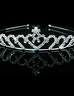 splendida chiaro cristalli nozze tiara