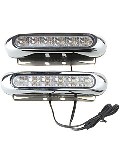 One Pair LED Blue Univsersal Head Day Driving Lamp Light -YS-615