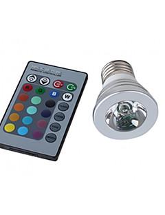LED spot, E27 3W 150LM RGB (110-240V)