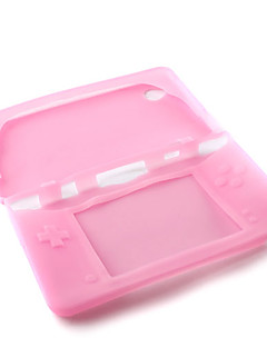 Silicone Protective Skin/ Case For Nintendo DSi LL/XL (Pink)