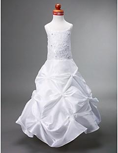 볼 가운의 특종 바닥 길이 태 피터 꽃의 소녀 드레스