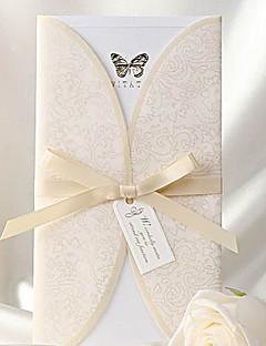 Cartes d'invitation Invitations de mariage Format Enveloppe & Poche Non personnalisés 50 Pièce/Set