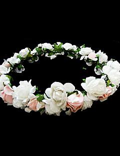 papper blomma bröllop blomma flicka huvudstycke