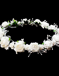 Headpieces Wedding Flower Girl Wreath With Lovely Flowers