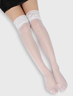 akryl knee highs hold ups strømper