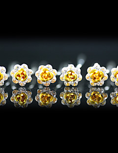 hoofddeksels bruiloft hoofd pinnen 6 stuks prachtige strass / bloemen meer kleuren beschikbaar