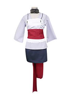 に触発さ NARUTO -ナルト- Temari アニメ系 コスプレ衣装 コスプレスーツ 着物 パッチワーク 長袖 ベスト 上着 スカート 襟 ベルト 用途 女性用