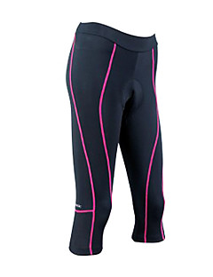SANTIC® Cycling 3/4 Tights Women's Bike Breathable / Quick Dry Bottoms Coolmax Stripe Spring / Fall/Autumn Cycling/Bike