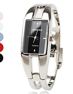 Women's Watch Fashionable Rectangle Case Silver Alloy Bracelet Cool Watches Unique Watches