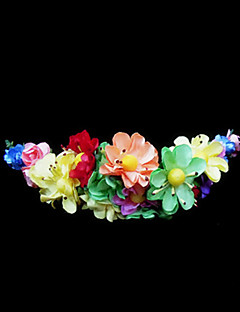 Women's/Flower Girl's Paper Headpiece - Wedding/Special Occasion Flowers