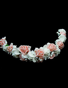 Women's/Flower Girl's Foam Headpiece - Wedding/Special Occasion Flowers