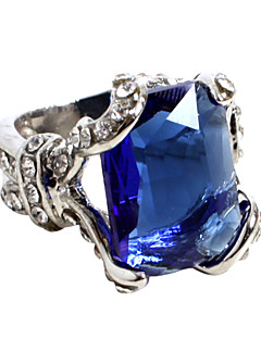 Jewelry Inspired by Black Butler Ciel Phantomhive Anime Cosplay Accessories Ring Blue / Silver Alloy / Artificial Gemstones Male