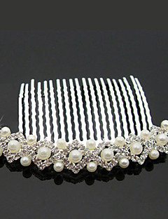 Women's Alloy / Imitation Pearl Headpiece-Wedding / Special Occasion / Outdoor Hair Combs
