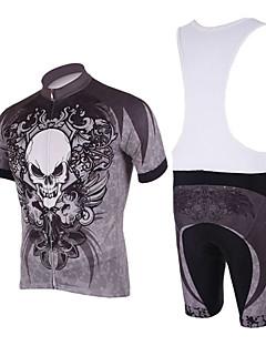KOOPLUS® Cycling Jersey with Bib Shorts Men's Short Sleeve Bike Breathable / Quick DryJersey + Bib Shorts / Jersey + Shorts / Clothing