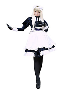 Inspired by Hetalia White Russia Natalia Alfroskaya Anime Cosplay Costumes Cosplay Suits Patchwork White Long Sleeve Dress