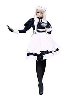 Inspirado por Hetalia White Russia Natalia Alfroskaya Anime Fantasias de Cosplay Ternos de Cosplay Miscelânea Branco Manga Comprida