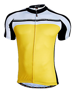 Nuckily-Herre Ho-Cooling Quick Dry Fabric Korte ærmer Cycling Jersey