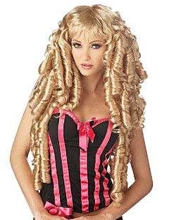 Holiday Curly Wig Inspired by Golden Beautiful Lady Sweet