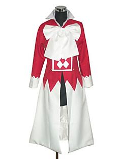 Inspirovaný Pandora Hearts Alice Anime Cosplay kostýmy Cosplay šaty Patchwork Biały / Czerwony Dlouhé rukávy Přehoz / Nákrčník