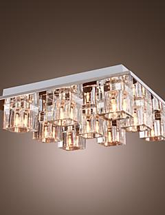 Ceiling Light Crystal Modern 9 Lights