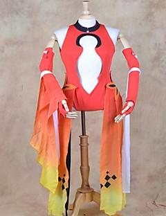 cosplay kostuum geïnspireerd door schuldig kroon Inori yuzuriha goudvis