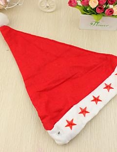 Chapeau Accessoires Parti Noël Non personnalisé Rouge